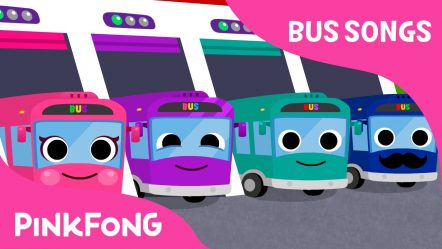 The Wheels on the Bus | Bus Songs | Car Songs | PINKFONG Songs