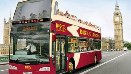 BIG BUS TOUR LONDON + RIVER CRUISE ON THE THAMES, SEPTEMBER 2015