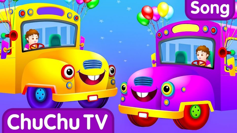 Wheels on the Bus (PART 2)  — Popular Nursery Rhymes and Songs for Children