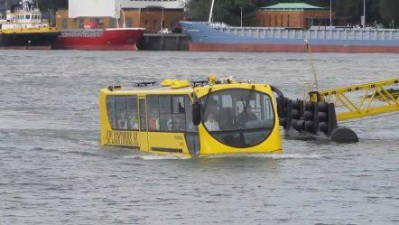 Rotterdam Splash Bus. Seeing is believing!!