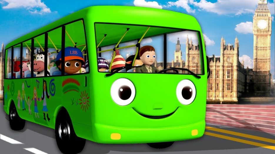 De Wielen Van De Bus gaan rond en rond — de wielen van de bus afleveringen HD 2015
