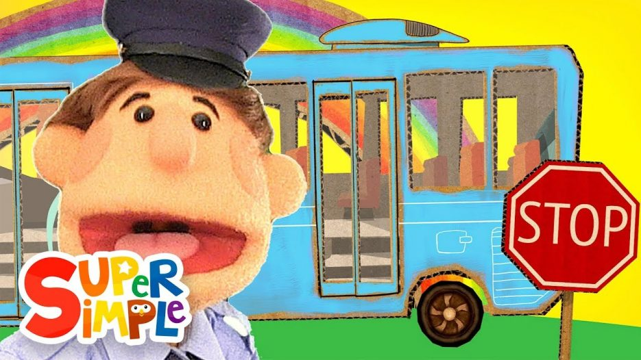 The Wheels On The Bus   Super Simple Songs
