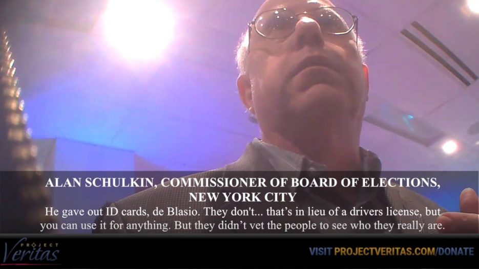 HIDDEN CAM: NYC Democratic Election Commissioner, «They Bus People Around to Vote»