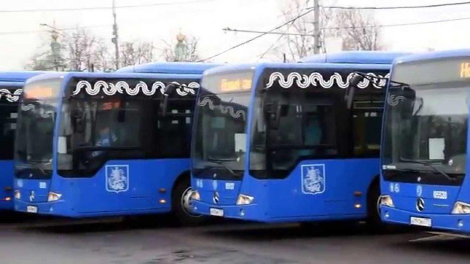 Новые городские автобусы для Москвы