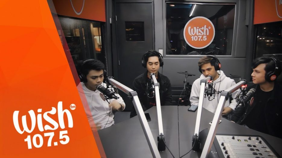 """AM/FM performs """"Line To Heaven"""" (Introvoys) LIVE on Wish 107.5 Bus"""
