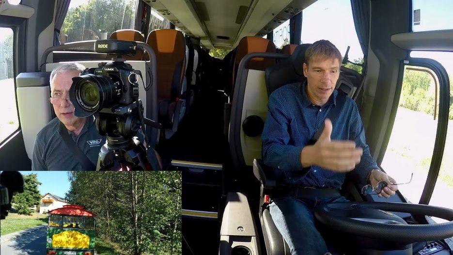 Kamera läuft, Bus fährt: VDL Futura FHD mit neuem Kraftstrang
