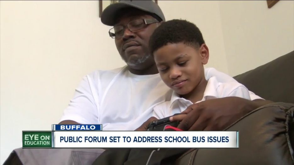 Buffalo parents want to fix problems with school bus system, schedule forum