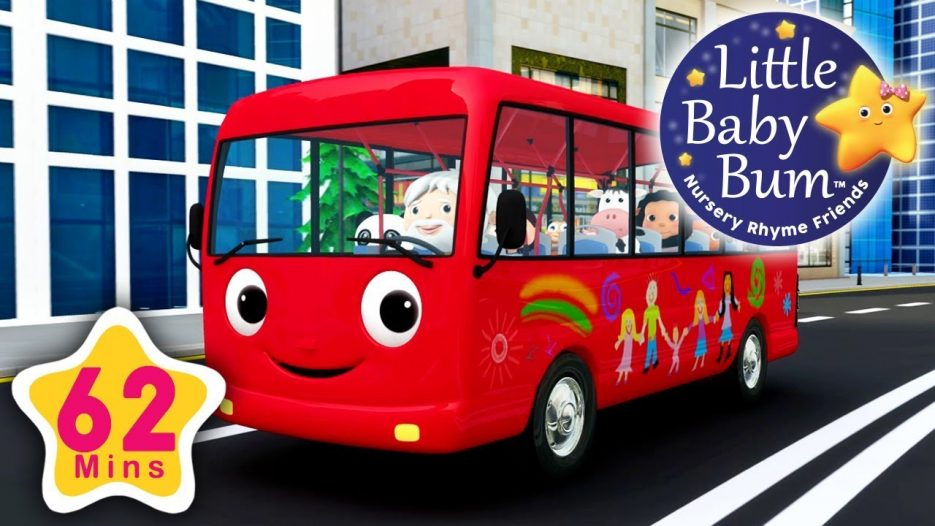 Wheels On The Bus   Part 13   Plus More Nursery Rhymes   62 Minutes Compilation from LBB!