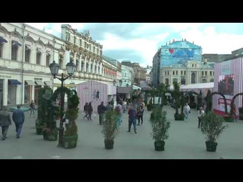 Приехали на автобусе в Москву — из Киева /04.05.2016/