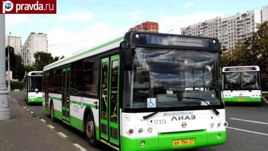 В Москве хулиганы обстреляли автобус с людьми