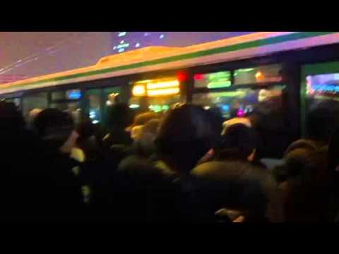 Транспортный кошмар в новой Москве. Автобус № 863