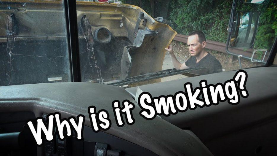 I Bought A Smoking School Bus!