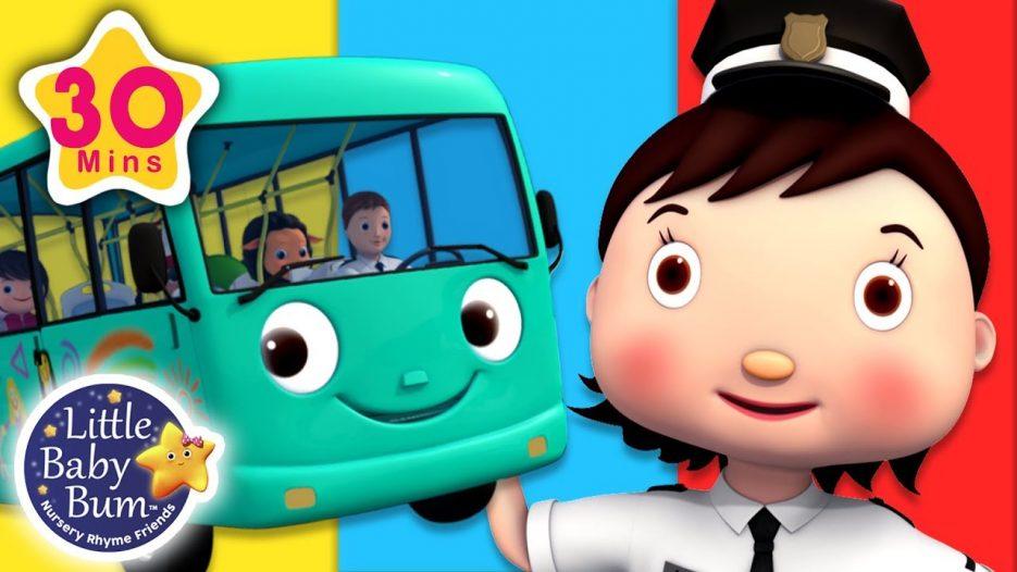 Traffic Lights Song — Wheels On The Bus   + More Nursery Rhymes & Kids Songs   Little Baby Bum
