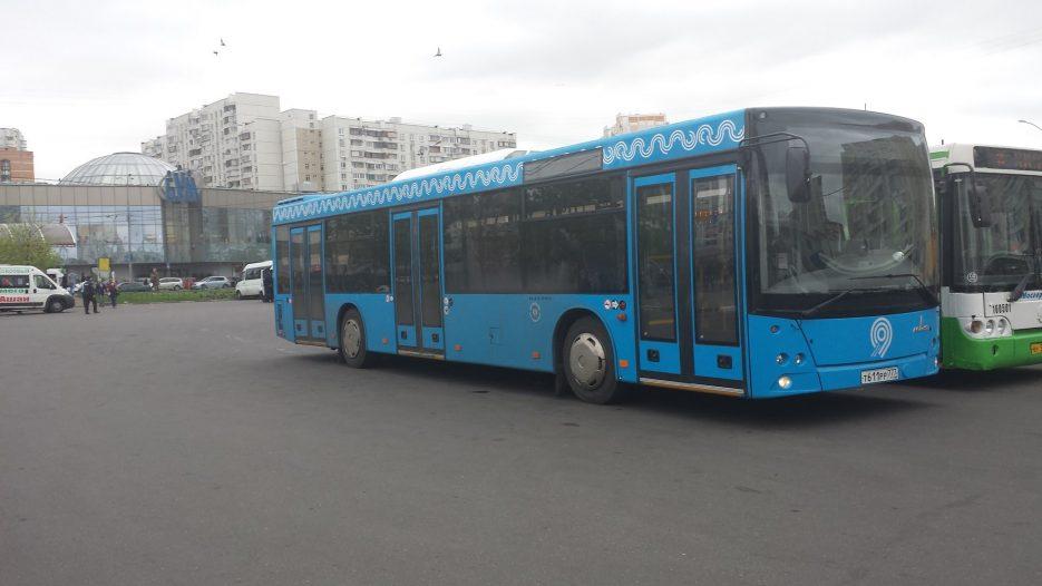 Поездка на автобусе МАЗ-203.069 Т 611 РР 777 Маршрут № 112 Москва