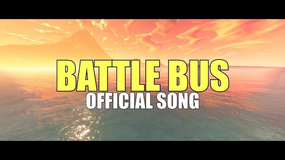 BATTLE BUS — (Official Song) — PARODIA FORTNITE   Moscow Mule