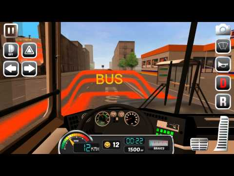 Bus Simulator 2015 Moscow Android Gameplay