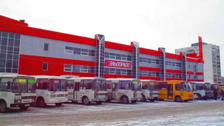 авто вокзал Курган bus station
