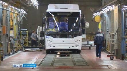 Курганский завод выпустил уже более 400 автобусов на газовом топливе