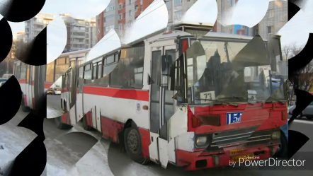 Списанные омские автобусы. Они навсегда ушли в историю.