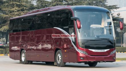 Yutong представит новый автобус Yutong ZK 6121 HQ