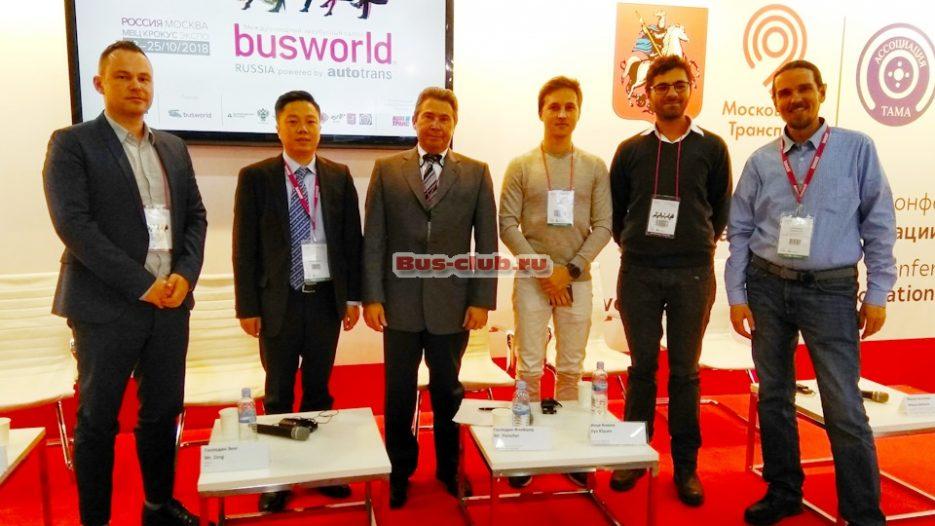 Отчет по беспилотному транспорту с выставки BusWorld 2018