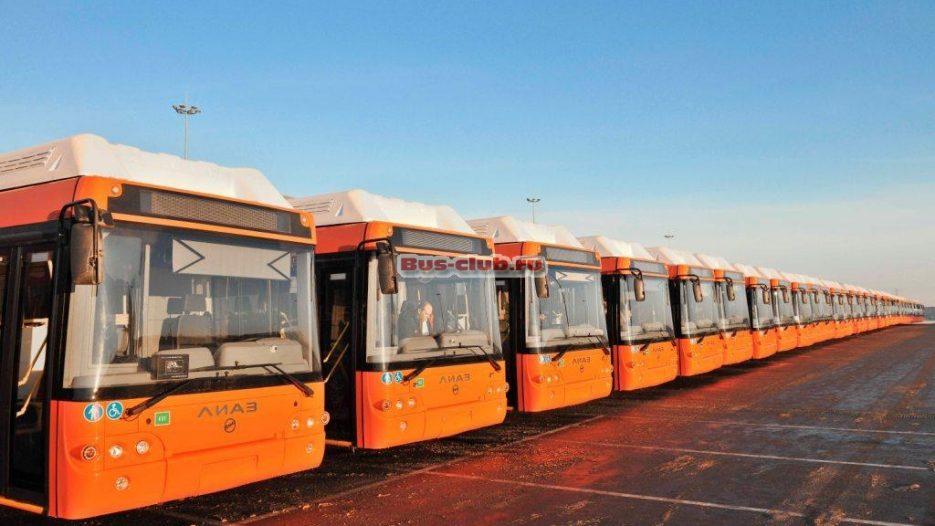 100 газовых автобусов ЛИАЗ на газомоторном топливе поставят в Нижний Новгород