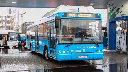 ЛиАЗ произведет для Москвы 181 автобус на природном газе