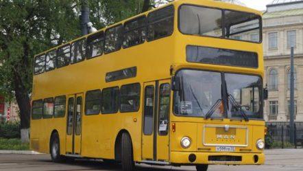 """""""Доппельдеккер"""" — двухэтажный автобус MAN SD200"""
