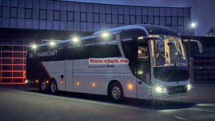 Сборная Германии выбрала автобус  MAN Lion's Coach