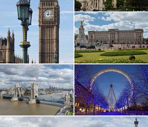 Лондон в центре Европы