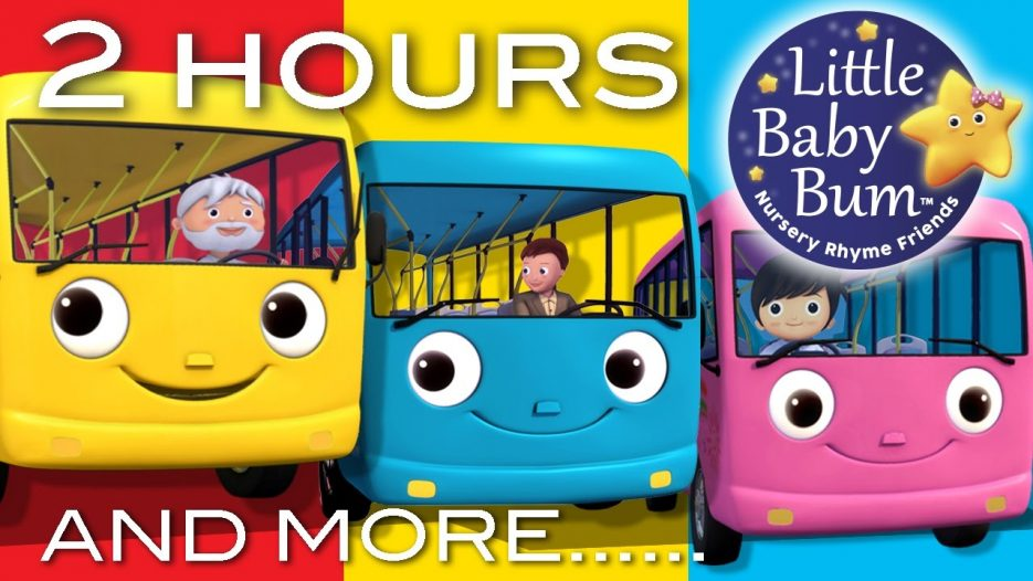 Wheels On The Bus   Part 2 Compilation!   2+ Hours of Nursery Rhymes by LittleBabyBum!