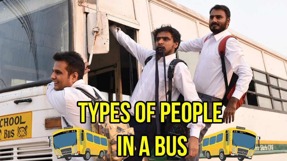 Types Of People in a Bus — Amit Bhadana