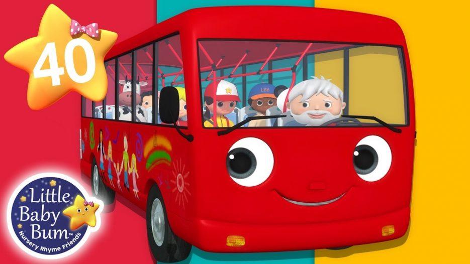 Wheels On The Bus — Part 18   + More Nursery Rhymes & Kids Songs   Songs for Kids   Little Baby Bum