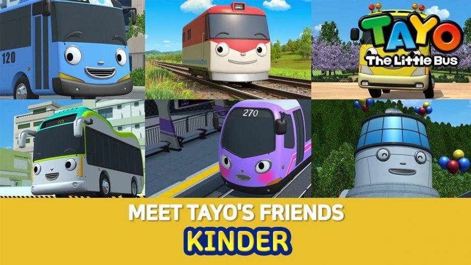 #2 Kindergarten bus KINDER l Meet Tayo's Friends 2 l Tayo the Little Bus