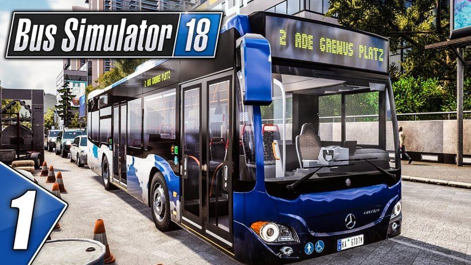 BUS SIMULATOR 18: Alle einsteigen bitte in den CITARO K!   BUS SIMULATOR 2018 deutsch