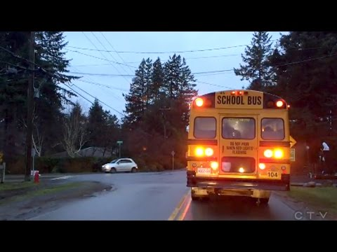 Caught on Cam: Disturbing driving near B.C. school bus