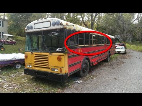 They Spent $2000 On This Old Bus And Converted It Into Something Amazing