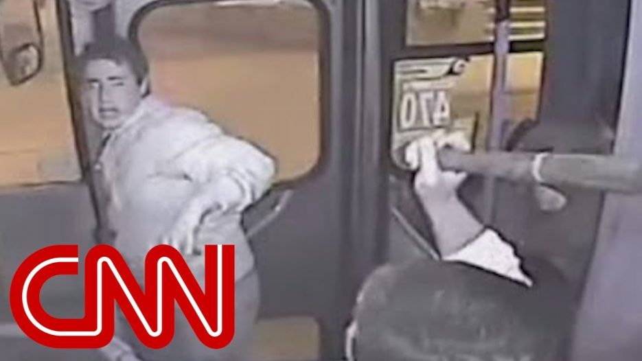 Bus driver lays the smackdown on thief