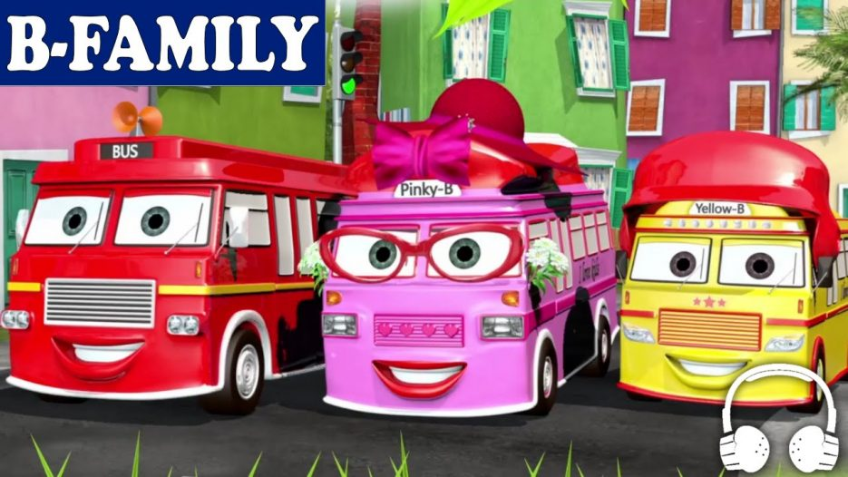 [B-FAMILY] Wheels on the Bus and More Songs   Muffin Songs