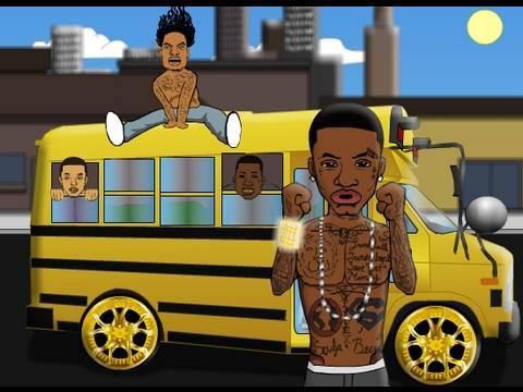 Shawt Bus Shawty Funny Rap Parody Cartoon Music Video @MikeRobBYOB