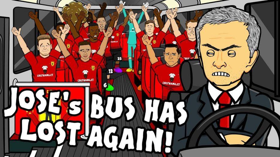 🚌JOSE'S BUS HAS LOST AGAIN — the song!🚌 (Man Utd vs Tottenham 0-3 Parody Highlights)