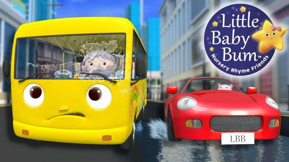 Wheels On The Bus | Part 12 | Nursery Rhymes | By LittleBabyBum!