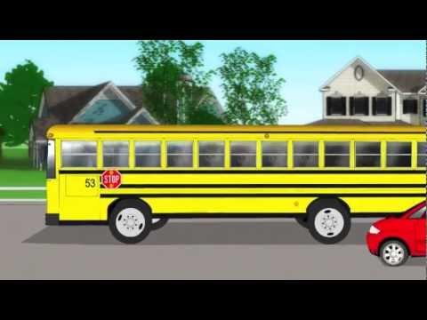 School Bus Kids Song | Nursery rhymes | Children's songs by Patty Shukla