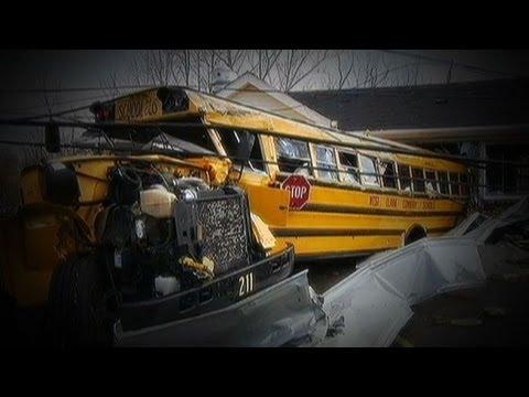Tornado Hero: Bus Driver Saves Kids
