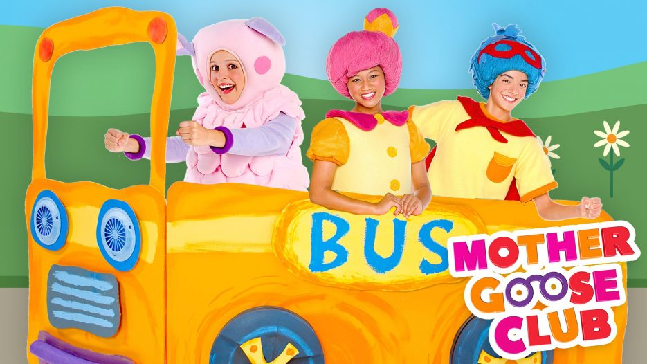 The Wheels on the Bus Go Round and Round — Mother Goose Club Songs for Children