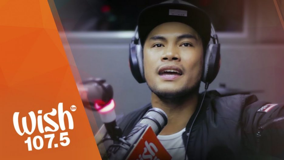 Bugoy Drilon covers «One Day» (Matisyahu) LIVE on Wish 107.5 Bus