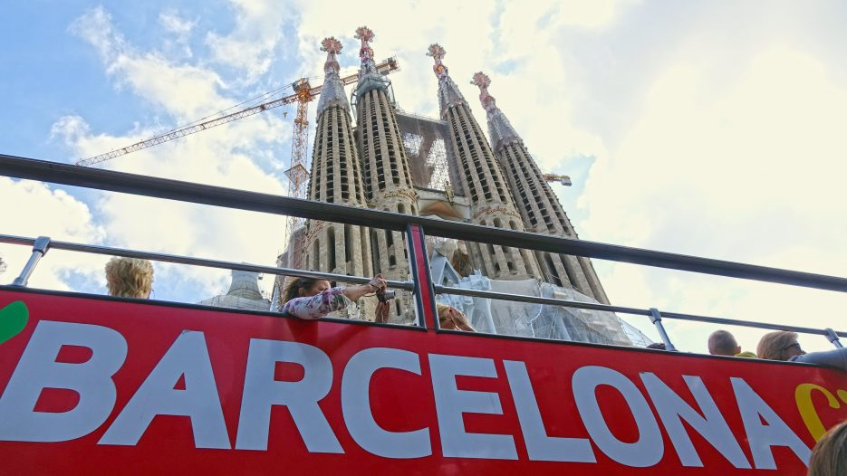Barcelona — City Sightseeing Bus Tour 4K