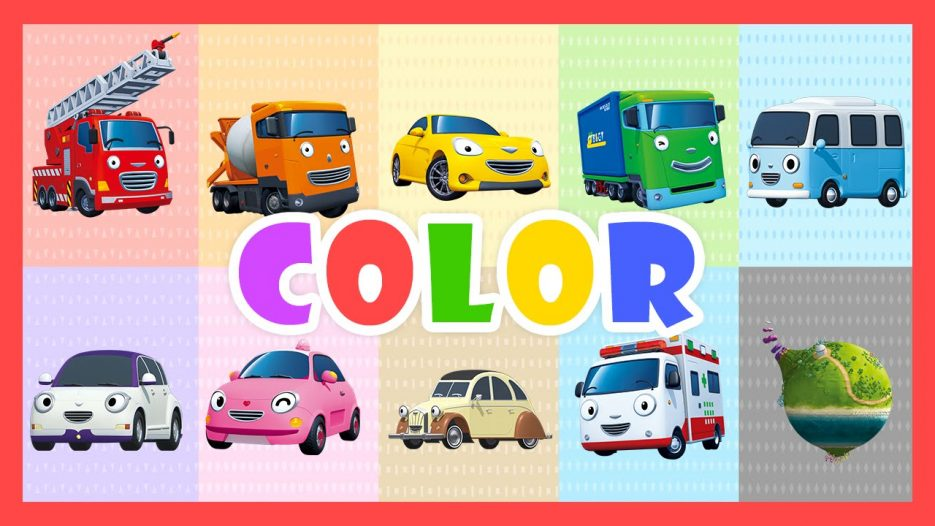 Color Song — Learn colors with Tayo the Little Bus