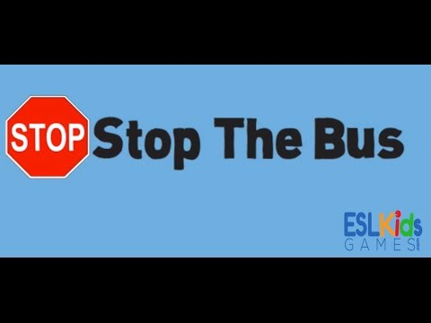 ESL Game: Stop the Bus