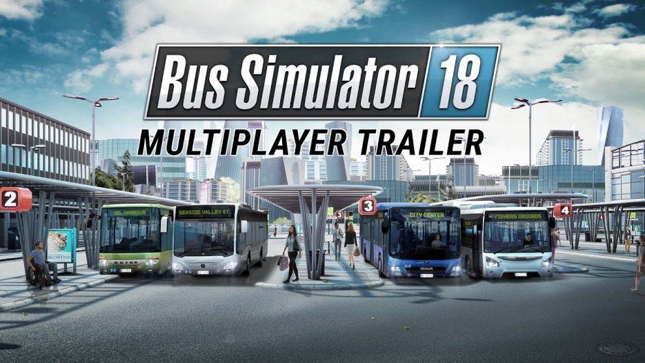 Bus Simulator 18: Multiplayer Trailer (EN)